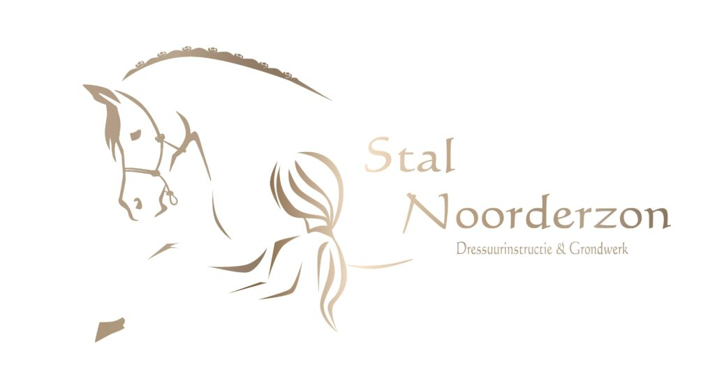 Logo Stal Noorderzon, Meisje en Paard